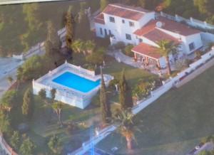 Luftbild-Villa